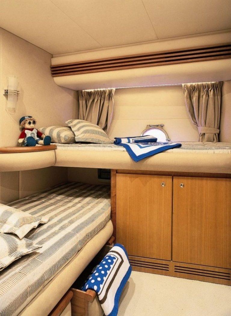Motoryacht WINI kids cabin