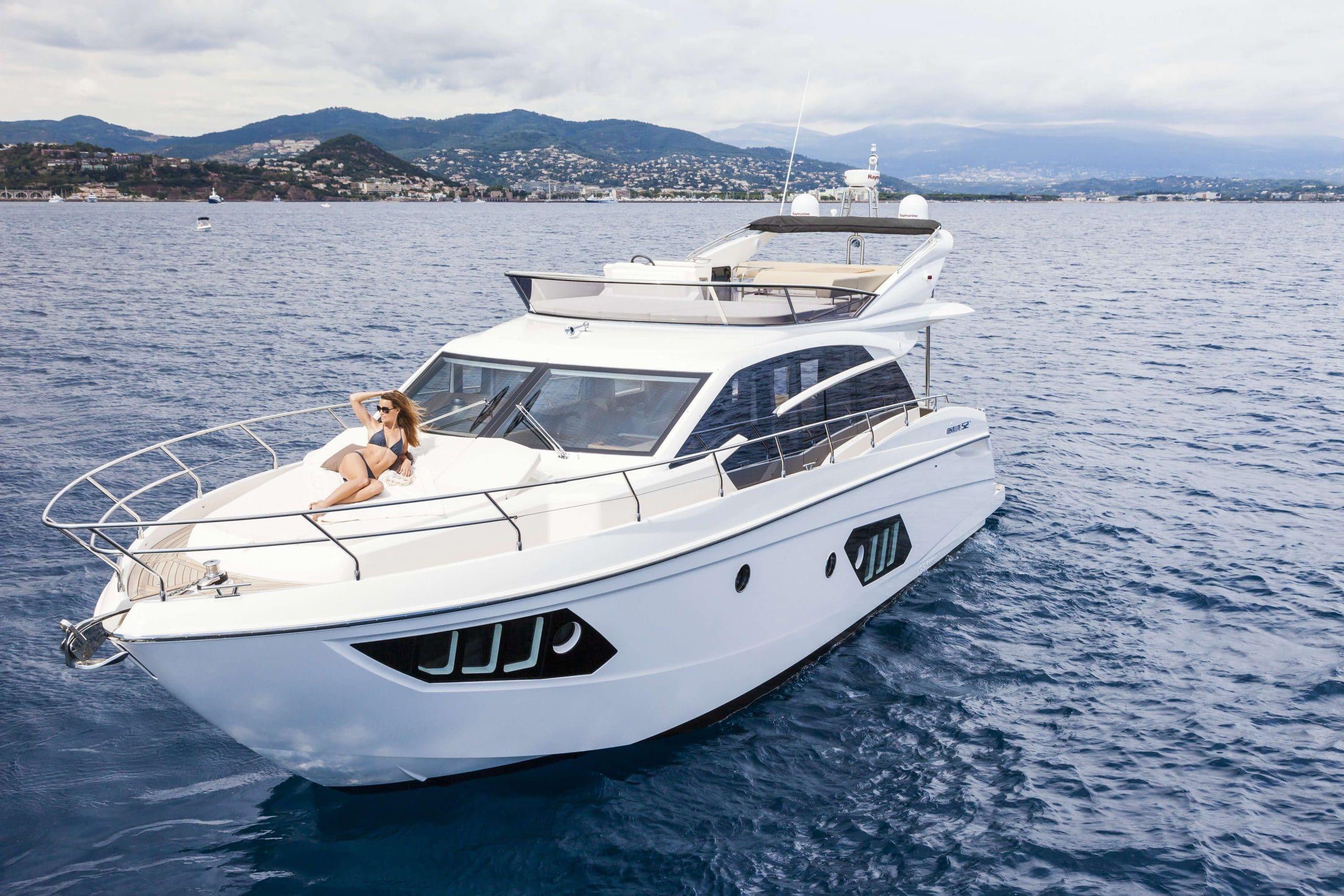 absolute 52 charter boat Mallorca