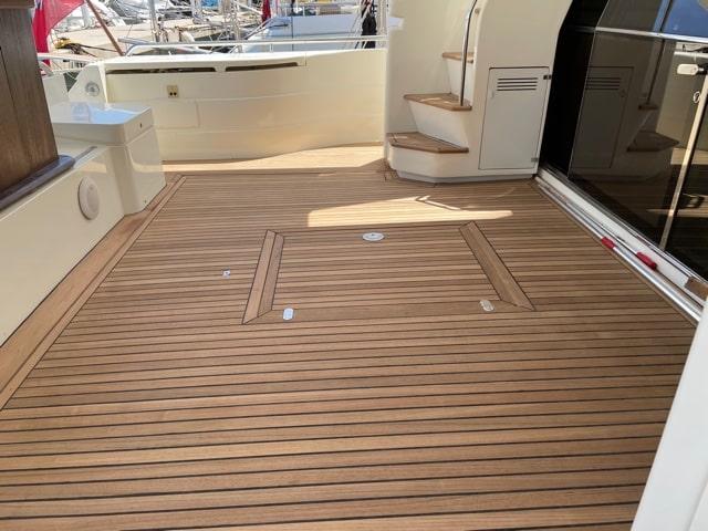 teak back deck
